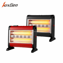 Bedroom hot wind electric quartz tube fan heater