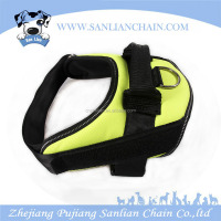 High Quality Pet Products Dog Body Harness padded Easy Walk Denim Dog Vest harness