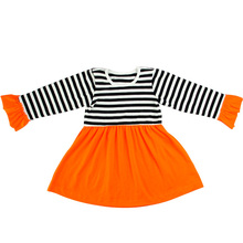 2015 new style long sleeve cute girls dress wholesale korean dress for winter