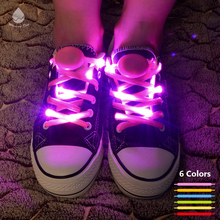 Nylon flashing led shoelace