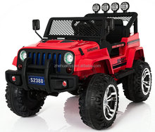 12V MP3 Kids Raptor Jeep Wrangler Truck RC Ride on Car w/ Double Motor & Battery
