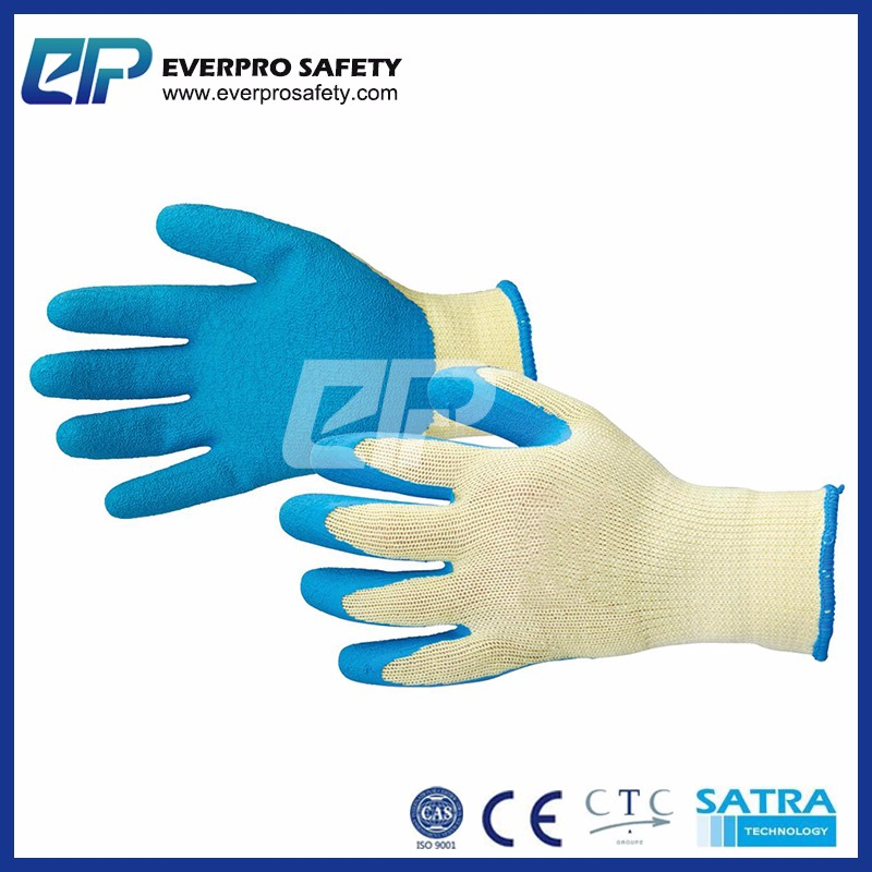 EN388 4121 Working Gloves Latex based on whole auto Production Line