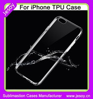 "JESOY For iPhone 6 Case 4.7"" Slim Transparent Hard TPU Back Cover, Hard TPU Case, For iphone 6 Clear TPU Case"