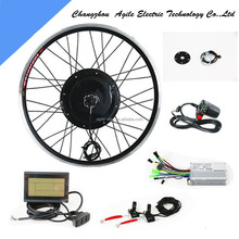 48v 750w Electric 80cc Bicycle Engine Kit With Lcd Display