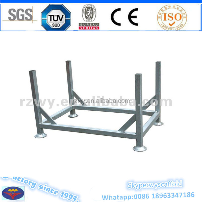 Galvanized steel Pallet Scaffolding Accessories 30kg Round And Square Bottom