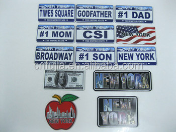 Funny 3D number metal aluminum plate,custom embossed 15x30cm metal license plate