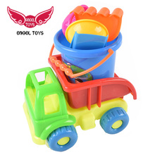cheap items environmental protection engineering vehicle shape sand beach toys for sale