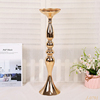 Wedding Road Lead Flower Table Vase Stand Gold Wedding Centerpiece Decoration