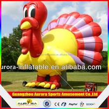 New finished Inflatable Turkey model with factory lower price