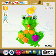 Shantou Top Sale Pouring Water Frog Bath Toy