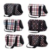 Small Pet Carrier Cat Bag Designer for Puppy Dog Transport Carriers Shopping Walking Pet Bags