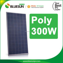 China best supplier hot sale 4BB poly pv 300w siemens solar panels