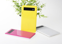 Top quality Colourful Fashion fast charging protable shenzhen power bank 4000mah with factory price