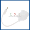 Dual Earphone Port 3.5 mm 1 to 2 Audio Splitter Cable