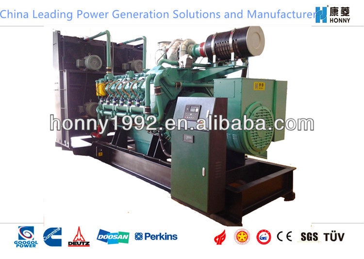 500kW/626kVA Two Fuel Generator Sets (Diesel Fuel,Nature Gas)