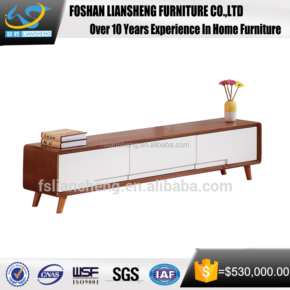 Modern TV Stand Whith High Gloss Wood TV Stand for Living Room Furniture