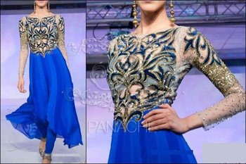 Royal Blue- Frock Style