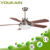 52 inch YOUKAIN home design ceiling fan parts