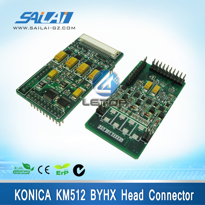 large solvent printer konica 512i printing head umc usb head connector