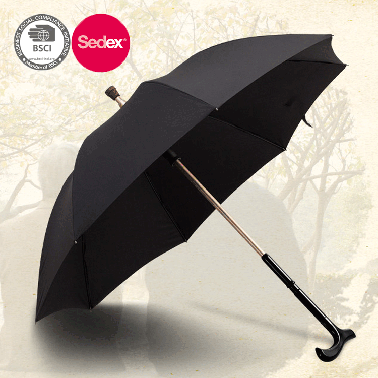Multifunctional walking stick umbrella for old men