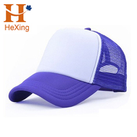 custom wholesale 5 panel blank mesh trucker caps hats for sale