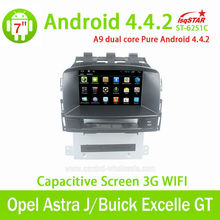 Multi-touch Capacitive Screen 3G internal Wifi for Opel Astra J Android 4.4.2 auto radio with gps
