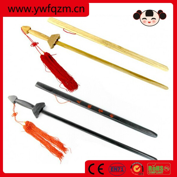 wooden kids rapier sword for children