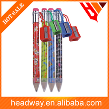 promotion 20cm high quality Jumbo pencil with sharpener