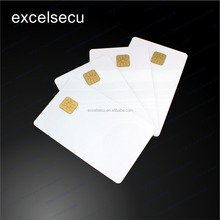 Customized design good quality bank white pvc thin plastic cards