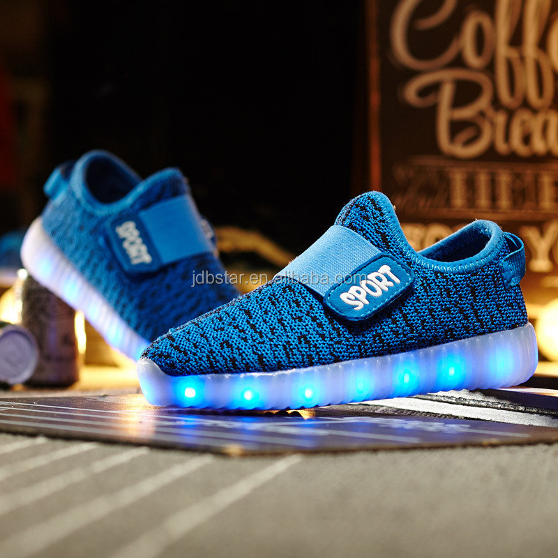7 color light changing led shoes,sneakers led shoes men shoes