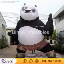 Popular panda movies giant inflatable panda for promotion