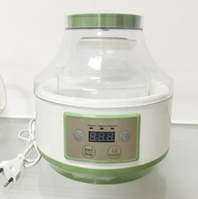 With temperature and time control home use yogurt maker