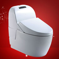 Ceramics technique manufacturing sanitary ware bathroom wc washdown siphonic white color one-piece toilet