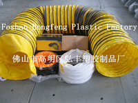 flexible dryer duct and spiral pipe,pvc air duct