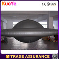 inflatable UFO inflatable silver helium flying saucer balloon