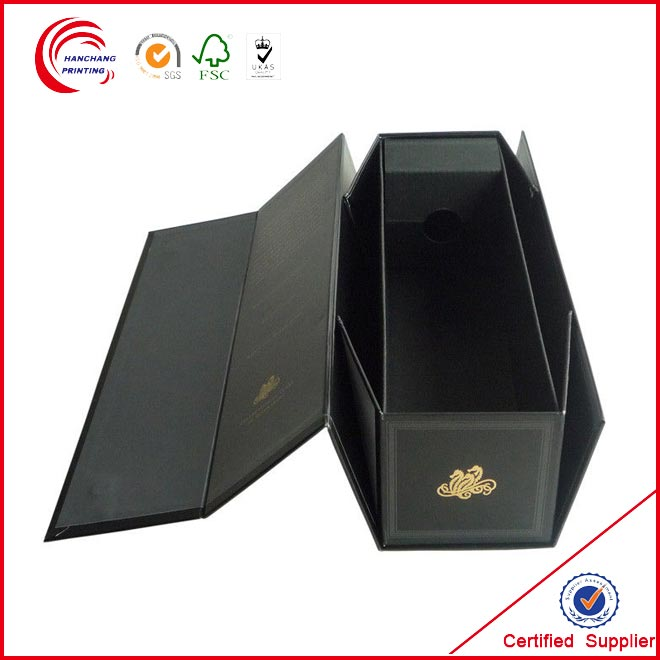 Custom Magnet Closed Paper Gift Foldable Box
