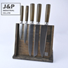 5pcs Knife Set With Wooden Magnetic