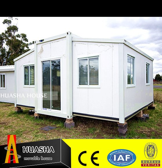 Steel frame prefab shipping container homes for storage sheds sale