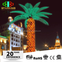 New production led coconut palm tree light