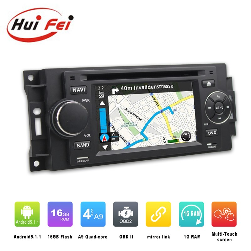 OEM touch screen MP3 Player car audio for chrysler 300c support Bluetooth,Radio,GPS,Mirror link