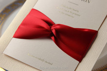 Custom made wholesale newest wedding invitation card cover