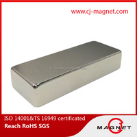 Cheap price strong power n50 block neodymium Magnet for DC motor from chinese manufacturer