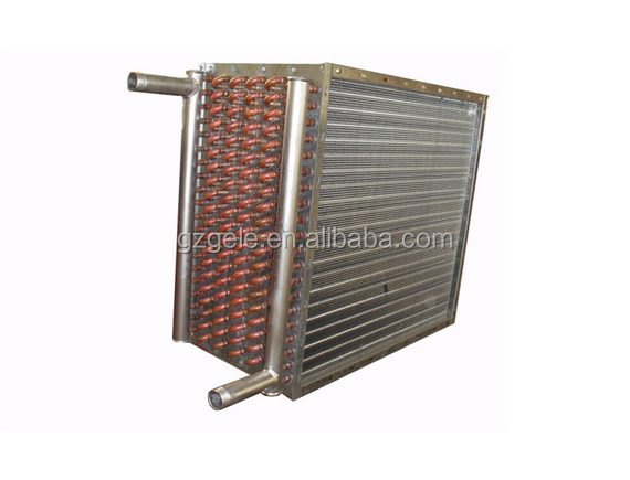 Air Cooler Copper Condenser Coil Chilled Water Cooling Coil Heat Exchanger for Cooling System