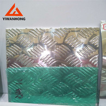 0.6mm Aluminum Decorative Wall Embossed Sheet