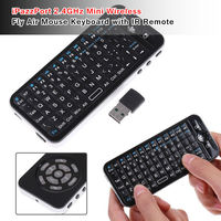 4 in 1 iPazzPort 2.4GHz Mini Wireless Fly Air Mouse Keyboard touchpad with IR Remote New for IPAD MAC Android