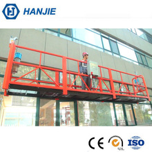 Construction zlp 800 suspended scaffolding lifting cradle for facade cleaning