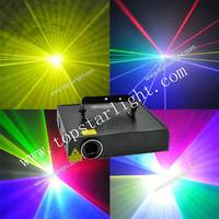 (TL1459) China market Wholesale Price 1.5W RGB Animation laser/professional laser show system used stage for sale