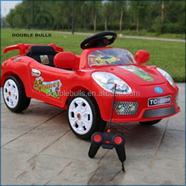 Red Color Children Powered Small Toy Cars with Tools