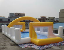 inflatable soap football/inflatable soap football field/inflatable soapy football field
