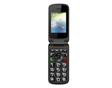 Cheapest Price Vkworld Z2 2.4 inch Flip Mobile Phone with SOS Key Old Man People Phone Dual SIM Card 0.3MP Camera FM Bluetooth